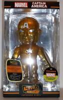 Funko Hikari Marvel Collector Corps Year 1 Exclusive Gold Captain America Figure