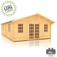 ARK ROYAL 44 LOG CABIN FOR SALE 30FT X 18FT LOG CABIN FREE DELIVERY  UK