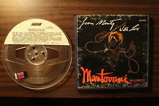 Mantovani & His Orchestra From Monty, With Love Reel To Reel Tape 7.5 IPS Tested