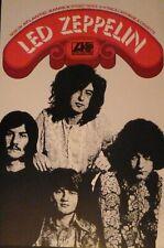 Led Zeppelin promo poster - 1st album 69 Atlantic records & Ampex tapes re-print