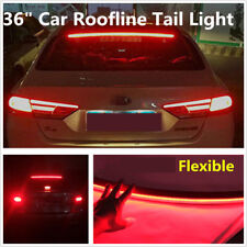 "36""  Bright Car Roofline LED Third High Brake Tail Light Above Rear Windshield"