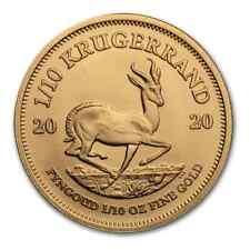 2020 South Africa 1/10 oz Gold Krugerrand - SKU#204854
