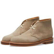 CLARKS ORIGINALS DESERT WELT Boots - MADE IN THE UK SAND SUEDE 8.5