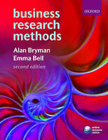 Business Research Methods, Bryman, Alan & Bell, Emma, Used; Good Book