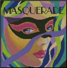 Masquerade Counted Cross Stitch Chart   No. 32-113