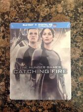 The Hunger Games: Catching Fire (Blu-ray Disc,Steelbook)NEW Authentic US Release