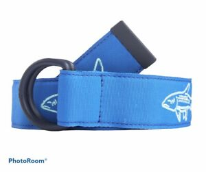Vineyard Vines Men's Bonefish Icon Performance Belt.Blue.Sz.XXL.MSRP$68.00 NWT
