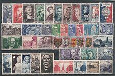 Timbres France oblitérés - Année 1951 complète