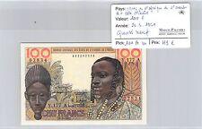 BILLET ETATS DE L'AFRIQUE DE L'OUEST A COTE D'IVOIRE - 100 FRANCS - 20.3.1961 *