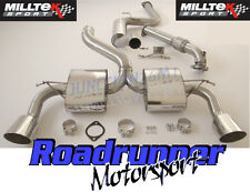 """Milltek Focus RS MK2 Exhaust Stainless 3"""" Cat Back System Resonated & Downpipe"""