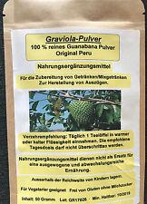 Graviola Pulver-Guanabana pur 100 % , 500 g Pack