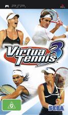 Virtua Tennis 3 PSP Game USED