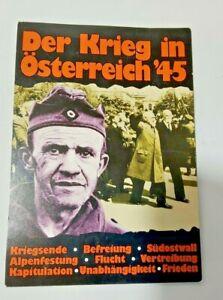 Der Krieg in Osterreich 1945 The War In Austria 1945 Post Card