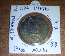 2 LIRE IMPERO  MAGNETICA 1939 N.2055