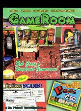 GameRoom Magazine Pinball Rob Craig November 2004