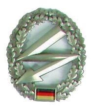 Esercito tedesco FREGIO BASCO telecomunicazioni truppa metallo federale BW distintivo basco FM