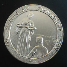Insolito Argento Sterling Piccolo proprietario CHAMPIONSHIP MEDAL-BIRMINGHAM 1934/36