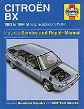 HAYNES CITERON BX 83-94 A TO L REG PETROL SERVICE AND REPAIR MANUAL