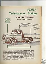 RTA REVUE TECHNIQUE AUTOMOBILE 1957 - WILLEME + SALON AUTO + UTILITAIRES