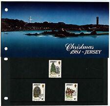 Jersey 1981 Christmas MNH Presentation Pack #C40522