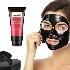 Activated Charcoal Black Mask Face Peel Off Blackhead Removal Deep Cleansing