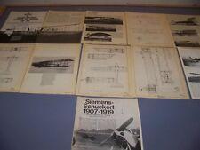 VINTAGE..SIEMENS-SCHUCKERT AIRCRAFT & MISSILES..HISTORY/4-VIEWS..RARE! (973K)
