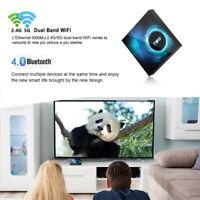 T95 Smart TV Box 6K Android 10.0 4 Core 128GB 5G 3D HD TV Box WIFI Media Player