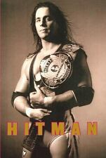 SIGNED by Bret Hart - Hitman My Real Life In the Cartoon World of Wrestling HC 1