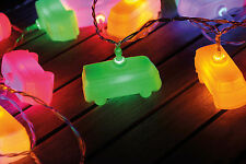 3D String Lights 3m, 20xLED Camper Van Bus T1  VW Collection by BRISA BULC01