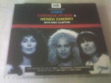 CHER / CHRISSIE HYNDE / NENEH CHERRY - LOVE CAN BUILD A BRIDGE - UK CD SINGLE
