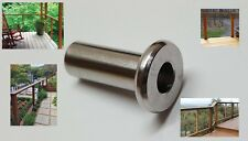 """T316 Stainless Steel Protective Protector Sleeve for 1/8, 3/16"""" Cable Railing~10"""