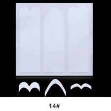 Decorazioni bianca senza marca effetto french per unghie