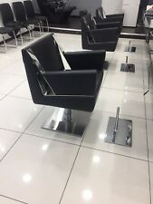 3 X REM Salon / Barber / Hairdressing / Beauty Chairs with 3 X REM Foot Rests