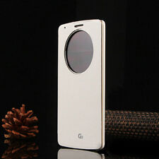 Quick Circle Smart Window View Slim Wallet Flip Smart Case Cover for LG G3 G4