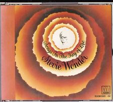 Stevie Wonder Songs in The Key of Life Japan 2CDs 1986 R30M-1001~02 Very Rare