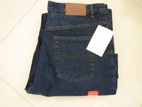 Ladies Corfu Blue Classic Fit Straight Leg Jeans Size 16
