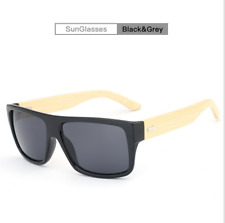 AZB Handmade Unisex Bamboo Wood Sunglasses Wooden Temple Fashion Glasses New