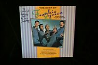 Autographed Album Herman Santiago, Frankie Lymon and The Teenagers The Best Of