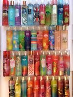 Bath and Bod Works Fine Fragrance Body Mist Splash Spray 8 fl oz / 236mL U Pick!