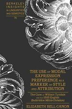 THE USE OF MODAL EXPRESSION PREFERENCE AS A MARKER OF STYLE AND ATTRIBUTION - NE