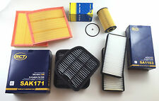 OIL FILTER 2x AIR 2x ACTIVATED CARBON 2x INNENRAUMFI. S-CLASS W220 400 CDI