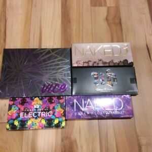 5x Urban Decay Mixed Lot Eye Shadow palettes *Brand New Never Been Touched*