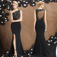 Grace Karin Long Bridesmaid Formal Evening Prom Dress BEADED Party Cocktail