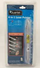 Quartet 4-in-1 Laser Pointer - Pointer, Led Light, Ball Point Pen, Pda Stylus