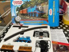 Hornby R9283 Thomas and Friends The Tank Engine Train Starter Set - Blue