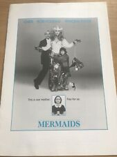 MERMAIDS (1990) Cinema Stills / Production Notes CHER BOB HOSKINS WINONA RYDER
