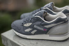 Reebok LX 8500 SZ 11 Graphite Steel White Athletic Running Casual Shoes M40