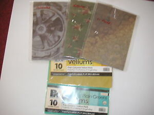 VELLUMS   (clearance 1)