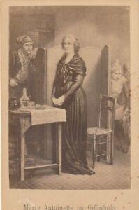 CDV Foto Marie-Antoinette v. Österreich-Lothr. im Gefängnis Frankreich 1864 Adel