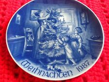 Royal Copenhagen  1987 Decorating The Tree Limited Edition